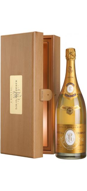 "Шампанское ""Cristal"" AOC, 2009, wooden box, 1,5 л"