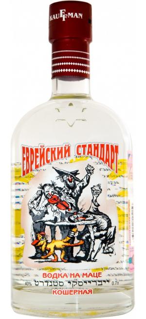 Водка Кауффман Еврейский Стандарт, 0.7 л