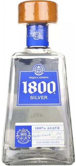 "Текила Jose Cuervo, ""1800"" Silver, 0.7 л"