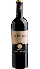 Вино Louis Eschenauer, Medoc AOC, 2017, 0.75 л