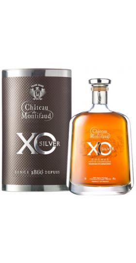 "Коньяк ""Chateau de Montifaud"" Silver XO, Fine Petite Champagne AOC, Carafe ""Attitude"" and gift box, 0.7 л"