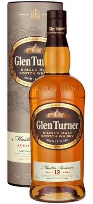 "Виски ""Glen Turner"" 12 Years Old, in tube, 0.7 л"