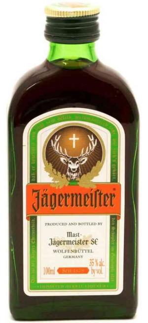 """Ликер """"Jagermeister"""", 100 мл"""