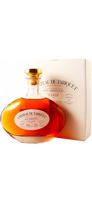 """Арманьяк """"Chateau du Tariquet"""" VSOP, Carafe """"Classic"""", gift box, 0.7 л"""