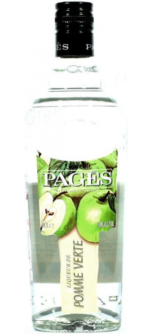 "Ликер ""Pages"" Pomme Verte, 0.7 л"