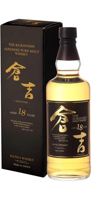 """Виски """"The Kurayoshi"""" Pure Malt 18 Years, gift box, 0.7 л"""
