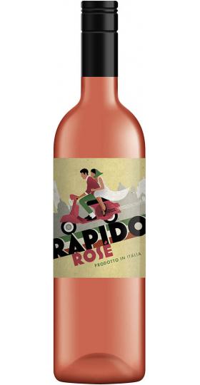 """Вино """"Rapido"""" Rose, Provincia di Pavia IGT, 2018, 0.75 л"""