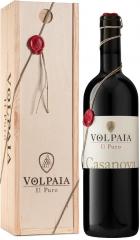 """Вино Castello di Volpaia, """"Il Puro"""" Casanova, Chianti Classico Riserva DOCG, 2016, wooden box, 0.75 л"""
