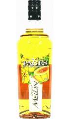 """Ликер """"Pages"""" Melon, 0.7 л"""
