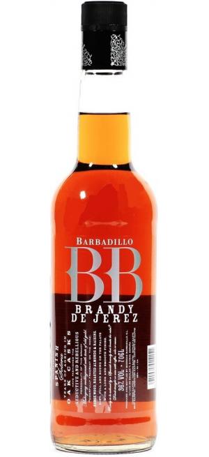 "Бренди Barbadillo, ""BB"" Brandy Solera, Brandy de Jerez DO, 0.7 л"