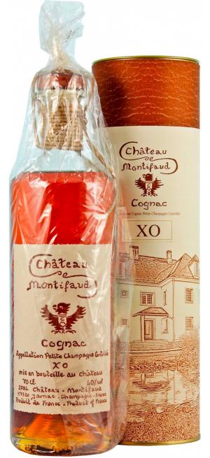 "Коньяк Chateau de Montifaud XO ""Millenium"", Petite Champagne AOC, gift tube, 0.7 л"
