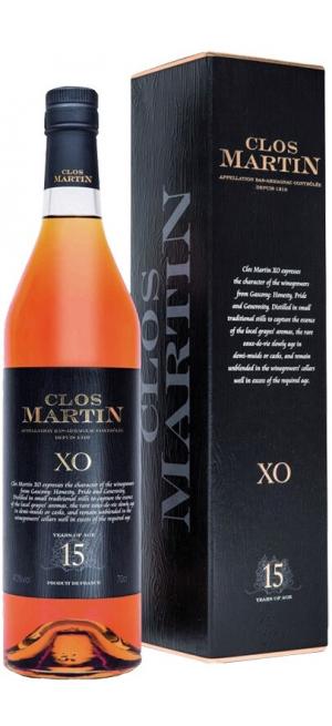 """Арманьяк """"Clos Martin"""" XO 15 years old, gift box, 0.7 л"""