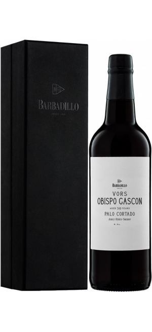 Херес Barbadillo, Palo Cortado VORS, 30 years old, Jerez DO, gift box, 0.75 л