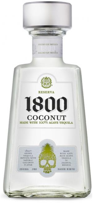 "Текила Jose Cuervo, ""1800"" Coconut, 0.75 л, 0.75 л"