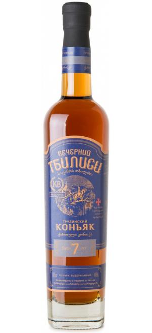 "Коньяк ""Вечерний Тбилиси"" 7-летний, 0.5 л"
