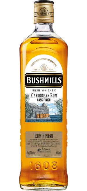"""Виски """"Bushmills"""" Caribbean Rum Cask Finish, 0.7 л"""