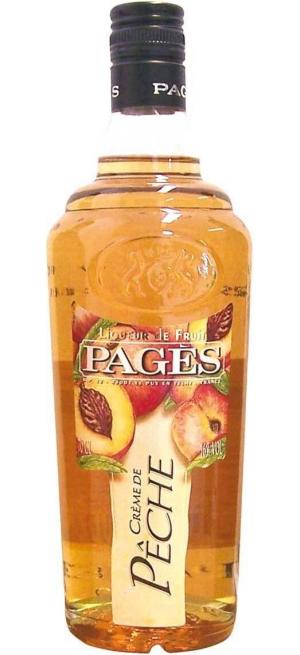 "Ликер ""Pages"" Peche, 0.7 л"