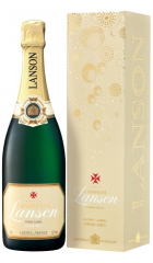 "Шампанское Lanson, ""Ivory Label"" Demi-Sec, gift box, 0.75 л"