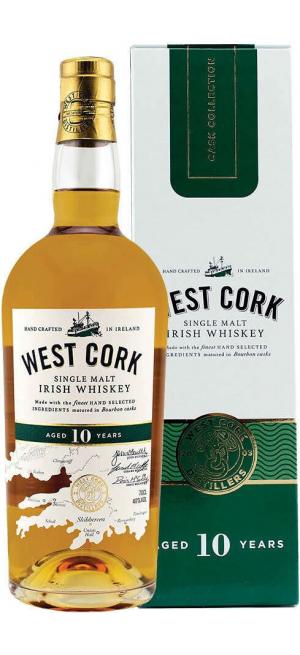 """Виски """"West Cork"""" 10 Years, gift box, 0.7 л"""