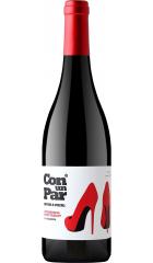 """Вино Vicente Gandia, """"Con un Par"""" Monastrell-Petit Verdot, Valencia DO, 2018, 0.75 л"""