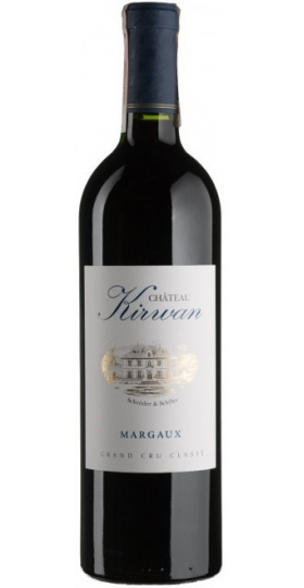 Вино Chateau Kirwan, Margaux AOC, 2001, 0.75 л