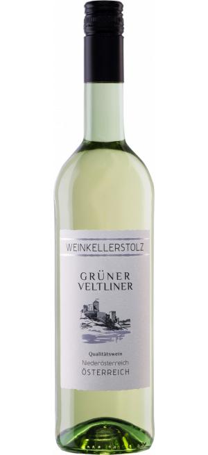 """Вино """"Weinkellerstolz"""" Gruner Veltliner Qualitatswein, Niederosterreich, 2020, 0,75 л"""