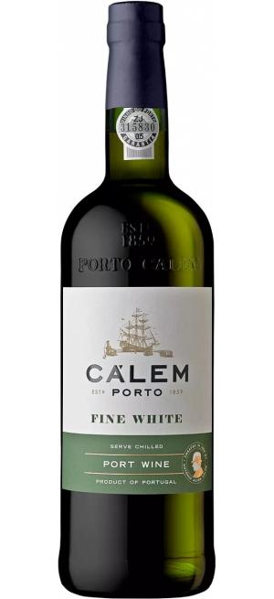 """Портвейн """"Calem"""" Fine White Porto, 0.75 л"""