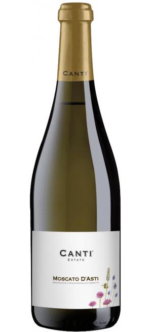 Игристое вино Canti, Moscato D'Asti DOCG, 2018, 0.75 л