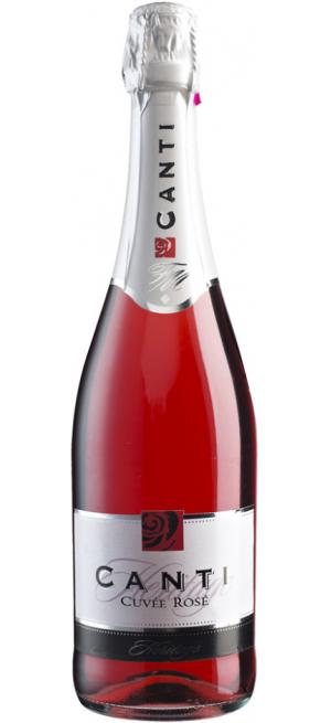 Игристое вино Canti, Cuvee Rose, 0.75 л