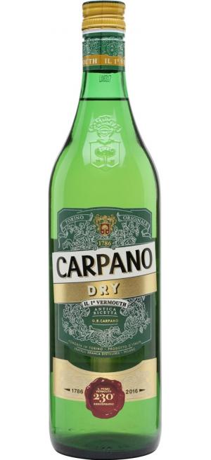 "Вермут ""Carpano"" Dry, 1 л"