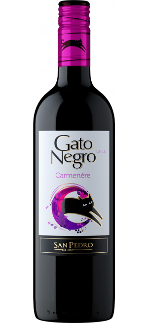 "Вино ""Gato Negro"" Carmenere, 0,75 л"