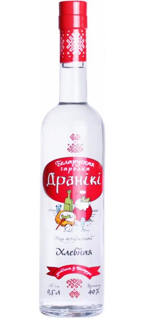 """Водка """"Драники"""" Хлебная, 0.5 л"""