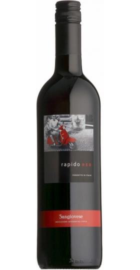 "Вино ""Rapido"" Red, Puglia IGT, 2019, 0.75 л"