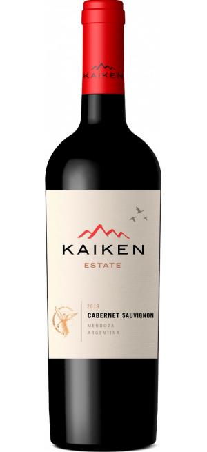 """Вино """"Kaiken Estate"""" Cabernet Sauvignon, 2018, 0.75 л"""