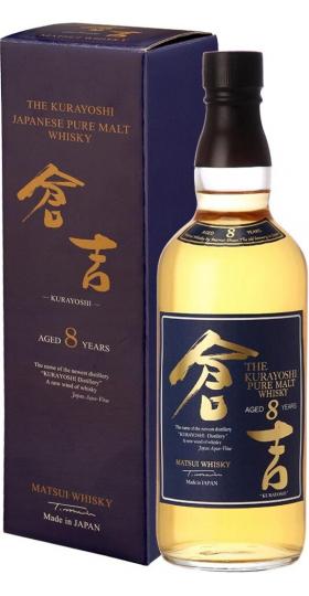 """Виски """"The Kurayoshi"""" Pure Malt 8 Years, gift box, 0.7 л"""