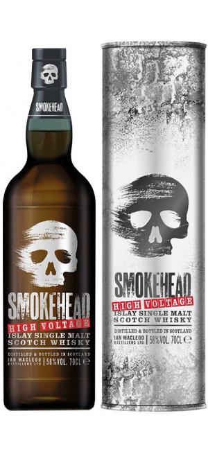 "Виски ""Smokehead"" High Voltage, in tube, 0.7 л"