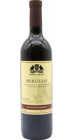 """Вино """"Duruji Valley"""" Mukuzani, 2017, 0.75 л"""