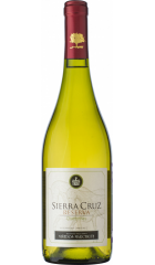 "Вино ""Sierra Cruz"" Chardonnay Reserva, Colchagua Valley DO, 2017, 0.75 л"