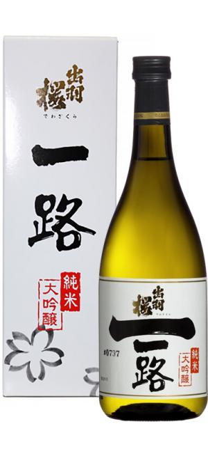 """Саке Dewazakura, """"Ichiro"""" Junmai Daiginjo, gift box, 720 мл"""