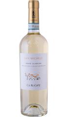 "Вино Ca'Rugate, Soave Classico ""San Michele"", 2018, 0.75 л"
