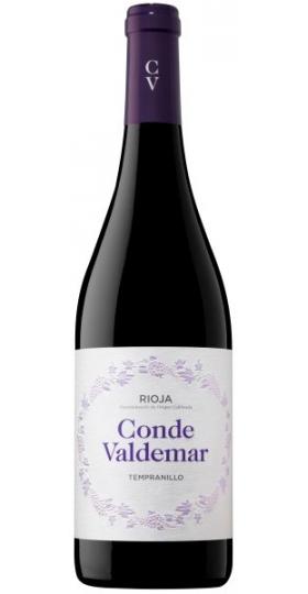"Вино ""Conde Valdemar"" Tempranillo, Rioja DOCa, 2017, 0.75 л"