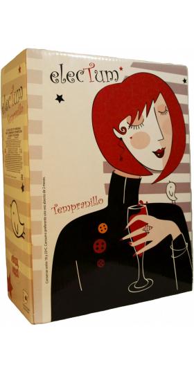 """Вино """"Electum"""" Tempranillo, Castilla La Mancha, 2018, bag-in-box, 3 л"""