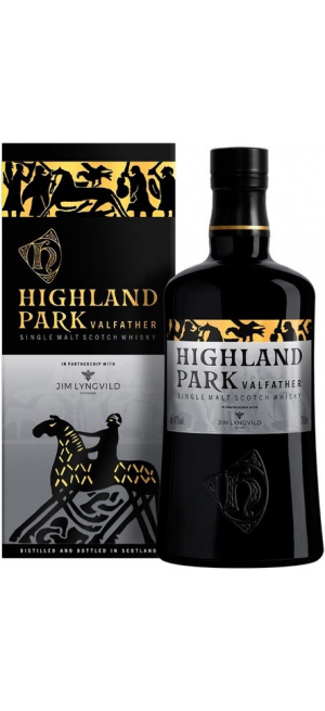 """Виски Highland Park, """"Valfather"""" 3 Years Old, gift box, 0.7 л"""