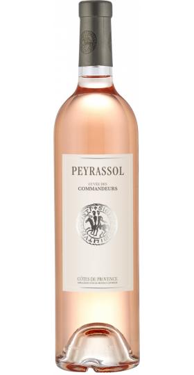 """Вино """"Cuvee des Commanderie"""" Rose, Cotes de Provence AOC, 2018, 0.75 л"""