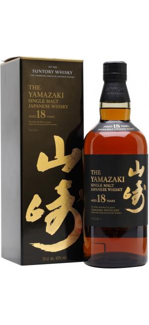 """Виски Suntory, """"Yamazaki"""" 18 years, gift box, 0.7 л"""