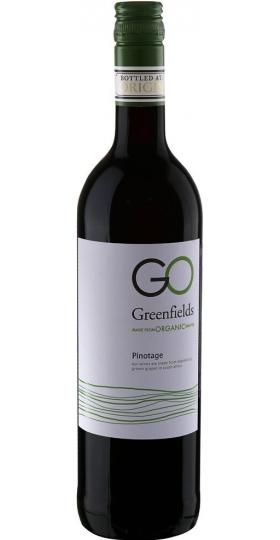 """Вино """"Greenfields"""" Organic Pinotage, Western Cape WO, 2018, 0.75 л"""