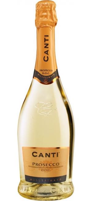 Игристое вино Canti, Prosecco DOC, 0.75 л