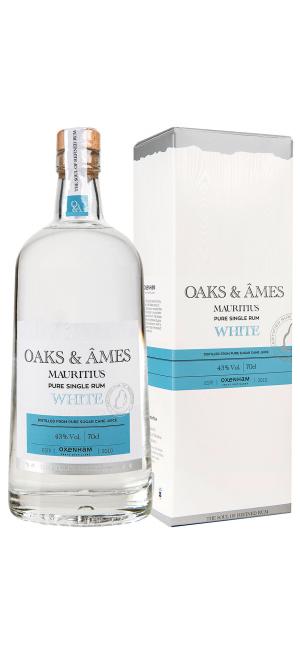 "Ром ""Oaks & Ames"" Pure Single White, gift box, 0.7 л"