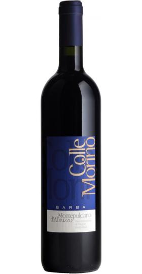 "Вино Barba, ""Colle Morino"", Montepulciano D'Abruzzo DOC, 2019, 0.75 л"
