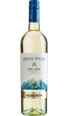 """Вино Mezzacorona, """"Castel Pietra"""" Pinot Grigio, Dolomiti IGT, 2019, 0.75 л"""